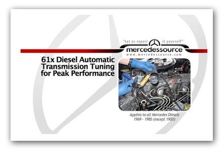 Diesel Automatic Transmission PEAK Performance Tuning Manual