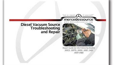 Diesel Vacuum Source Troubleshooting and Repair